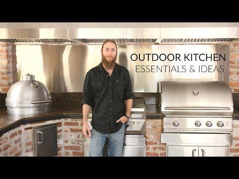 Outdoor Kitchen Building Essentials & Designs to Consider | BBQGuys.com