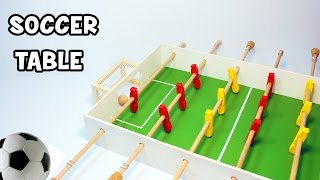 How to Make a Table Football | Soccer Table | Foosbal