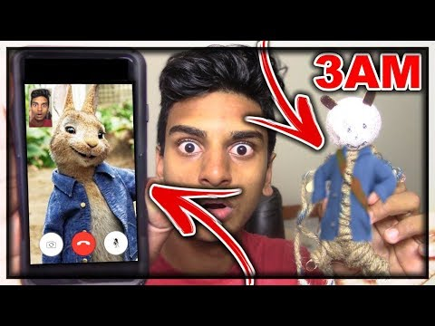 DO NOT USE A PETER RABBIT VOODOO DOLL AT 3:00 AM | *THIS IS WHY* | 3AM PETER RABBIT CHALLENGE!