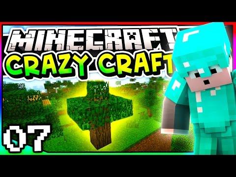 Minecraft: Crazy Craft 3.0 - Episode 7 - HOW TO GET A DUPLICATOR TREE!