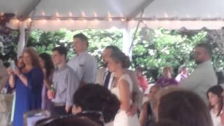 Wedding toasted