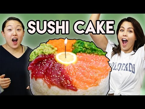 How to Cook: Sushi Cake 🍣