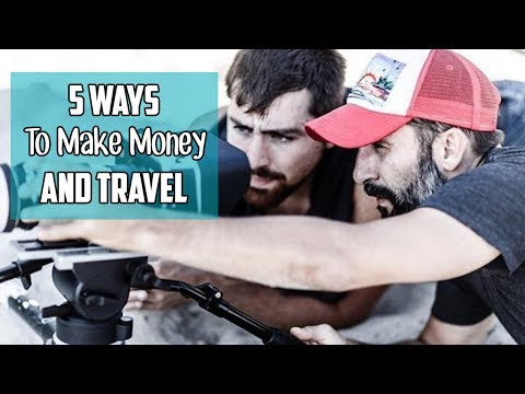 5 Ways to MAKE MONEY as a Travel Video Creator & YouTuber