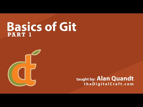 Basics of Git - Part 1 - Getting Started