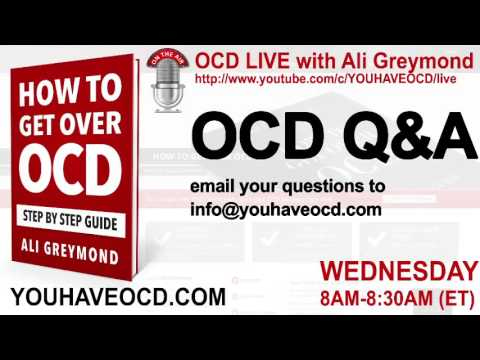 OCD Live April 1 - What Others Can Do To Help You Overcome OCD and What You Can Do To Help Yourself
