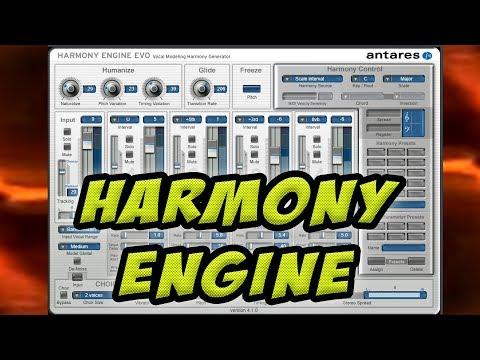 How To Use Antares Harmony Engine Evo ( Full Tutorial )