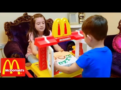 McDonald's - Kids Pretend Play with Kitchen Toy Playset