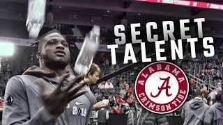 Alabama players unveil their