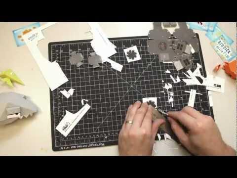 Derrick the Deathfin Papercraft PS3 Controller
