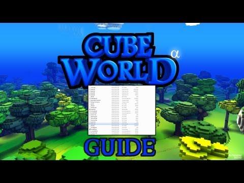 Cube World - Einsteiger Guide / Tutorial - Server erstellen und Map wechseln [Deutsch]