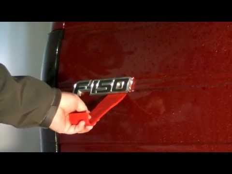 Removing Car & Truck Emblems (Example - 2009-2014 F150)