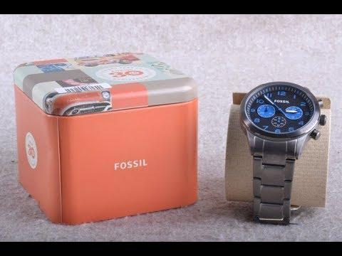Fossil Watch Review   Model No. BQ2124   Analog Quartz time set up