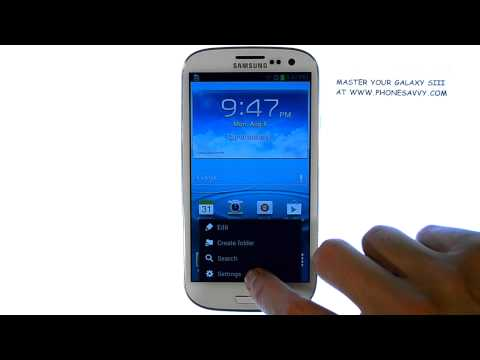 Samsung Galaxy SIII - How do I Turn Off touch sounds