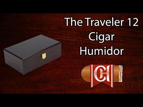Traveler 12 Cigar Humidor