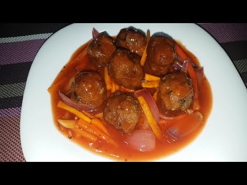 How to cook Sweet and Sour Meatballs | Sweet and Sour sauce