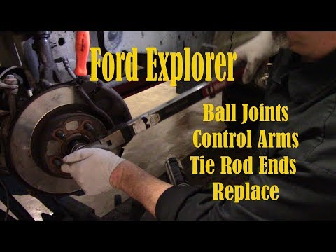 Ford Explorer Ball Joints Control Arms Replace