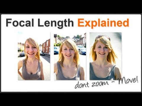 Focal Length Explained 1 - Don't just zoom - MOVE!