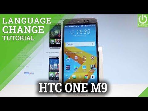 How to Set Up Language on HTC One M9 - Change Language