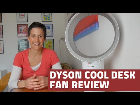 Review of the Dyson Cool 300mm desk fan