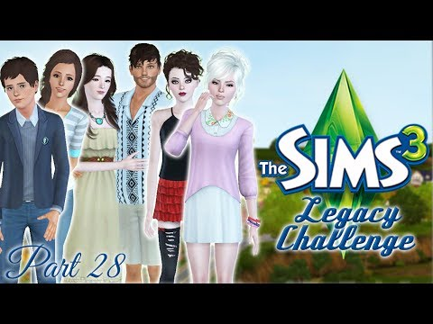 Let's Play the Sims 3 Han Legacy Challenge! Part 28: Kael's New Girl