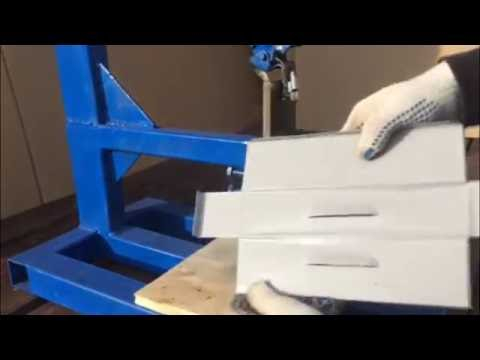 Самодельный пресс для просечки жалюзи (louver homemade press diy)