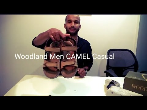 Unboxing Woodland Men CAMEL Casual