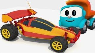 LEO der LASTWAGEN auf Deutsch 🚚 #LeoJunior baut ein Spielzeugauto 🚗 Zeichentrickfilme für Kinder