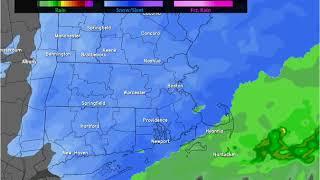 Forecast for Saturday, Feb. 17 into Feb. 18