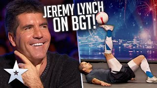 Football freestyle LEGEND Jeremy Lynch's Unforgettable Audition! | Britain's Got Talent