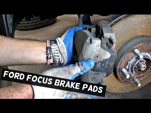 FORD FOCUS MK3 FRONT BRAKE PADS REPLACEMENT 2012 2013 2014 2015 2016