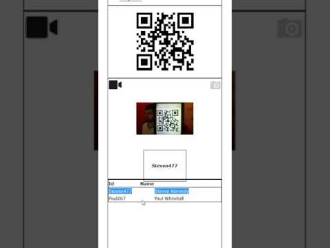 Generalscan Web Browser Barcode Scan with Javascript We Application