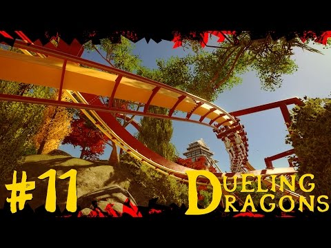 Dueling Dragons | Japanese Planet Coaster Timelapse! #11 [Spring Valley]