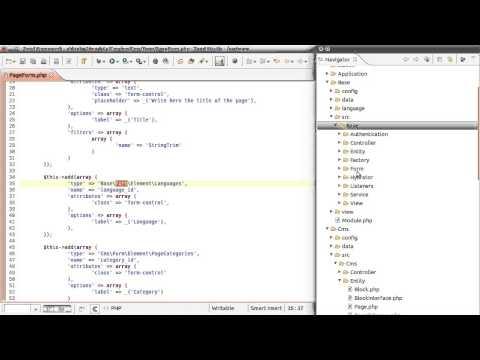 ShineISP v.2.0 - Zend Framework Overview