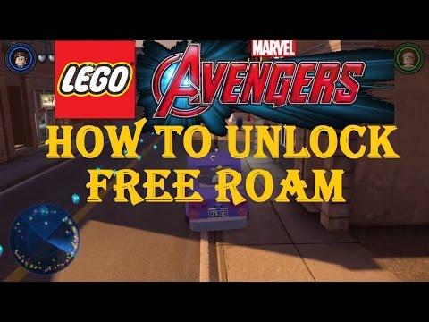 LEGO Marvel Avengers How To Unlock Free Roam To Explore The City Unlocking Manhattan