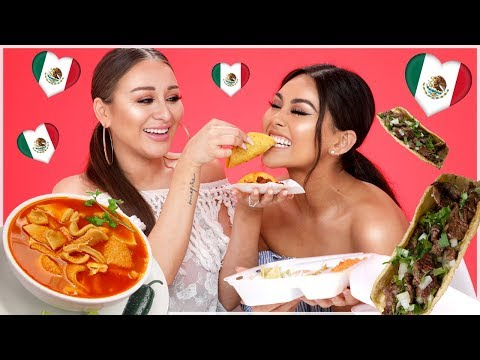 TRYING MEXICAN FOOD | Roxette Arisa