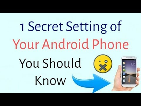 1 Secret Setting of Android Mobile - Change your Mobile Layout in Right Hand Side