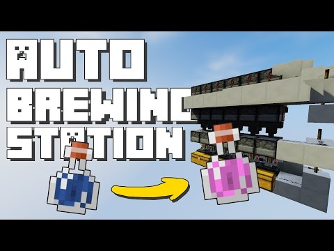Minecraft: Automatic Brewing Station [Redstone Tutorial]