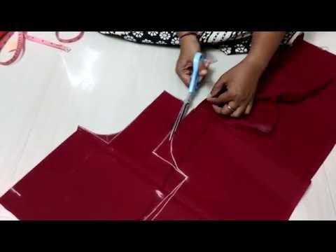 Blouse cutting in tamil(DIY)