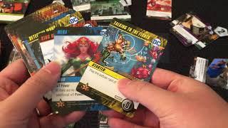 Board Game Reviews Ep #71: DC DECK-BUILDING GAME: REBIRTH