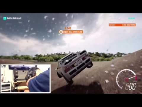 Forza Horizon 3! - rs2000 stunt!!!!