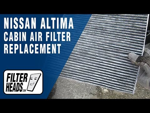 How to Replace Cabin Air Filter 2008 Nissan Altima