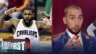 Kyrie says he didn't need to speak to LeBron before leaving  - was that wrong? | FIRST THINGS FIRST