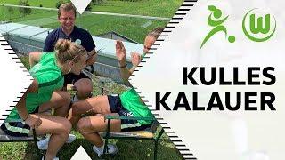 Kulles Kalauer #4: Anna-Lena Stolze & Joelle Wedemeyer bei der Flachwitz Challenge | VfL Wolfsburg