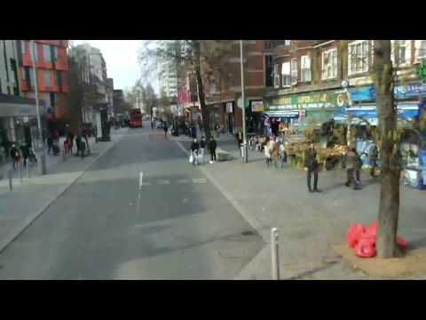 FULL ROUTE VISUAL : Go Ahead London route EL3 barking riverside - little Heath