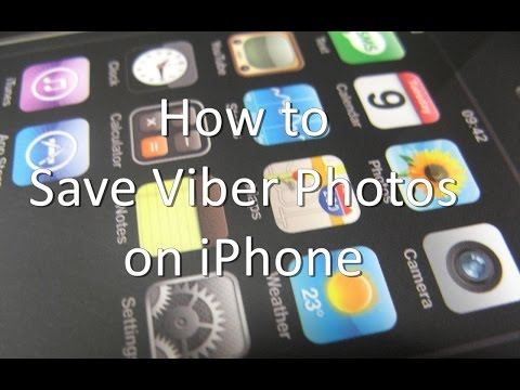 How to Save Viber Photos on iPhone and iPad