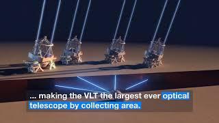 Four Big Telescopes Combine Into One Giant Eye | Video