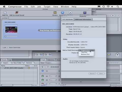 DVD Studio Pro Tutorial | 101 | Create a Simple HD-DVD