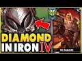 Download I TOOK MY DARIUS INTO IRON 4 FOR THE FIRST TIME! DIAMOND DARIUS VS IRON ELO! - League of Legends MP3,3GP,MP4