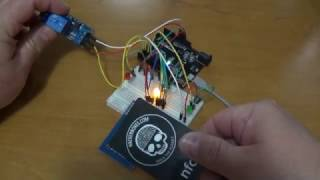 Arduino project tutorial for Beginners - RFID Connected to