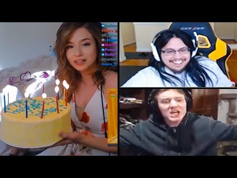 Pokimane Birthday SURPRISE | Hashinshin Goes Crazy Again!! | Tobias Face Cam On Again! - LoL Moments